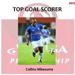 PSL Top Goal Scorer: (14 Goals) Collins Mbesuma #PSLAwards #SABCFootball https://t.co/mFgP8ANAP1