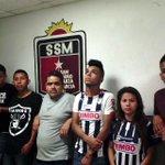 CAEN POR RIÑA Aficionados de las Rayas y Tigres fueron detenidos por polis de San Pedro luego de riña entre ellos https://t.co/0PqOfLuGE5