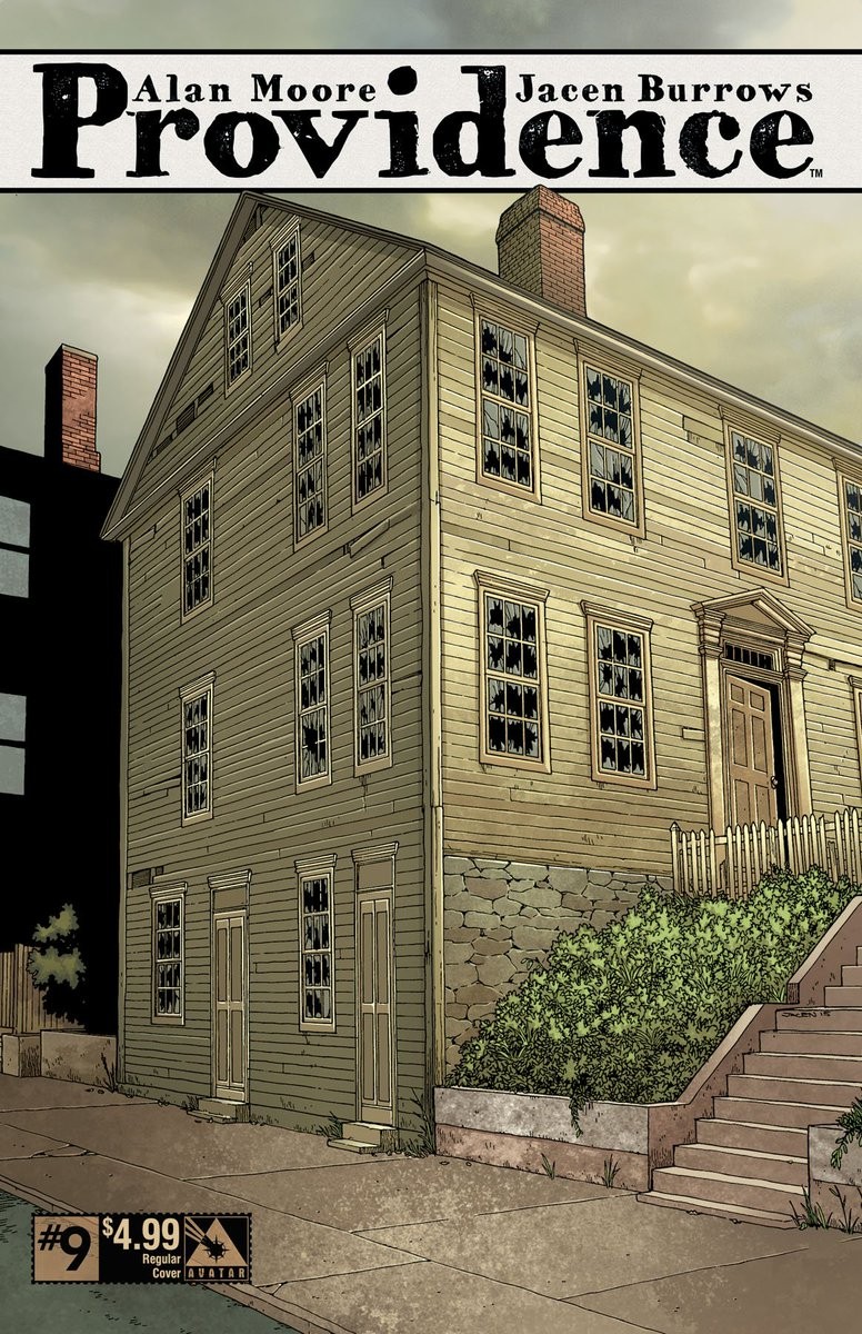 Do you feel it?  The creeping dread...it's coming.  #Providence #9 will be in your #comic shop on Wednesday 6/1! https://t.co/F2I4HNYsr3