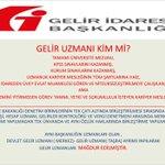 GELİR UZMANLIĞI @RT_Erdogan @binaliyildirm @naci_agbal @ali_ihsanarslan @BKurulu_Resmi @BeratAlbayrak @suleymansoylu https://t.co/rRceV7KMR1