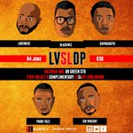 Here it goes #CapeTown this Saturday 4 June @ Bazinga Bar #LVSLDP brings you another dope session of #GoodMusic https://t.co/gR2NVLWN0f