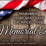 We will always remember those who paid the ultimate sacrifice for our freedom and our nation. https://t.co/hFqaHfxi8S