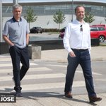 Jose Mourinho made his first visit to the Aon Training Complex today… #WelcomeJose https://t.co/D0NmNNJtmV