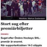 Örebroare, hur sugna är ni på att stå i ringlande köer igen?  Den 17/9 är det premiär! #Fjortontre #Örebro https://t.co/61HXOpf5Pm