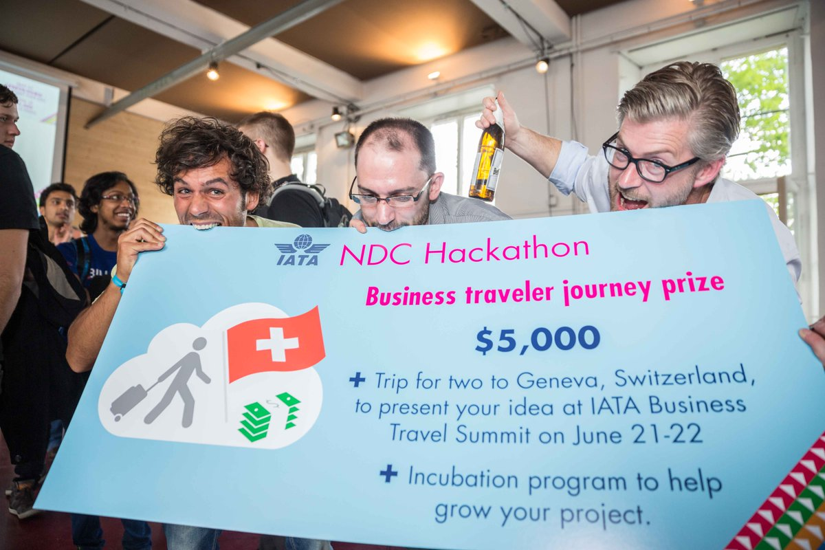 Congrats NDCHack winners – Nina, Cicero, PTA, BudgetR & FlyCal! See what's coming next: