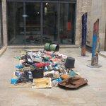 Instalación con restos de un naufragio en @MuseuMaritim #refugiados #Barcelona https://t.co/nkTEyRxW3P