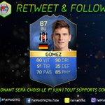 RT & FOLLOW pour tenter de gagner lHomme Mario Gomez TOTS Tirage Mercredi 1er Juin  Merci @EA_FIFA_France https://t.co/e7F0P4fKOS