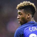 Kingsley Coman est titulaire pour la première fois en Equipe de France, ce soir. ???????? https://t.co/WhDBGONY1u