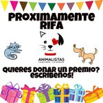 Alguien donaría un premio para nuestra prox rifa? Todo por nuestros rescatados! #LaSerena #Coquimbo https://t.co/Yv5pnUGe10