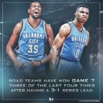 Recent history gives the Thunder the edge ⚡️ https://t.co/ieACwxx9VR