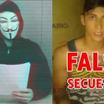#Anonymous desmiente secuestro de #AlanPulido https://t.co/9VpEv2YR4q https://t.co/Ub0q5GCmnk
