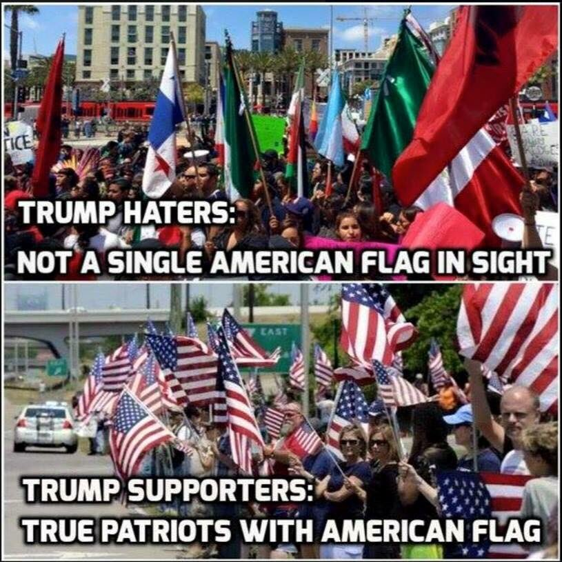 RT @JohnFromCranber: The Anti-America Crowd Vs The America 1st Crowd. #NeverSoros https://t.co/YdmPLUGxB7 #tcot @JohnKStahlUSA