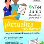Mañana martes 31 lanzamos campaña #ActualizaTusDatos en frontis de Hospital #Arica 10-12 hrs. https://t.co/lFUUpaI4Nt