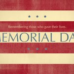 Remembering those who gave their lives in service for our great nation on this #MemorialDay. https://t.co/yRlnO5uR2a