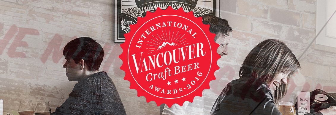 It took 30 judges and 291 kinds of beer. Here are your Van Mag Craft Beer Awards winners: https://t.co/VwKmrw3vJN https://t.co/E6850ReNvE