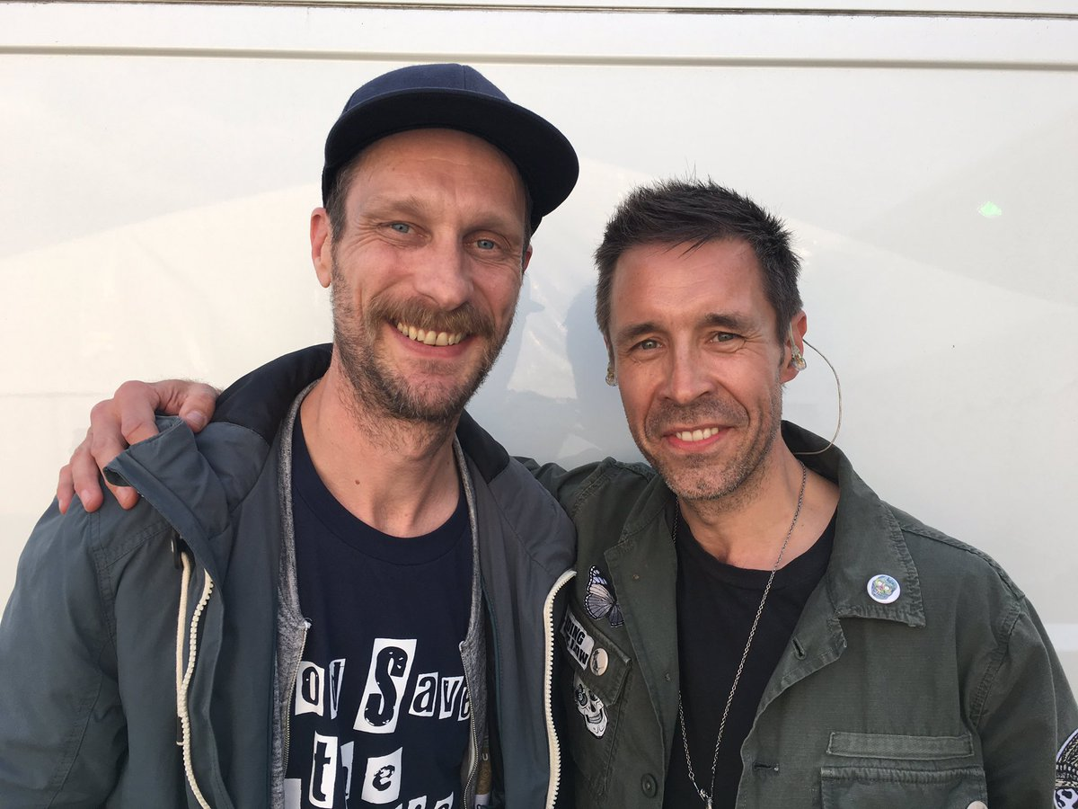Ace on stage interviews in Tim Peaks @sleafordmods (Andrew, left) & @PaddyConsidine (right) were the highlights https://t.co/RiTzwxn1Zq