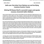 .@pmln_org @MaryamNSharif please keep promises and a world will pray for you #FreeAafiaNow #FreeAafia #AafiaSiddiqui https://t.co/H7ClUycpR4