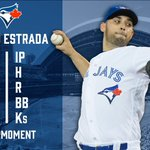 Estrada's evening is done after a terrific performance. #OurMoment https://t.co/UTrukwRtZK