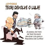 #TeoriDevolveOLula pro Moro e para a Lava Jato trabalhar. https://t.co/DygYLI9npk