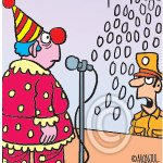Comedian is lynched for trashy video. My #cartoon https://t.co/by5KumOqIU