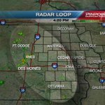 Best chances for shower/storm development this afternoon will be in the west/southwest.Drier air northeast.  #KCRGWX https://t.co/2bwqHCW5nL