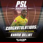 Players Player of the Season: Khama Billiat (R150 000) #SLLive https://t.co/Gm4greMU5R