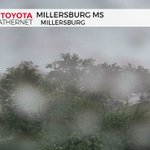 Tropical downpours moving through Millersburg right now as storms slide south and east toward Harrisburg/Carlisle. https://t.co/LW8fudZBsA