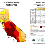 Not only does Trump deny climate change, hes now denying that the drought in California is even happening. What? https://t.co/ebnTlWZqLD