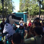 Its Happening in #DTSJ for the @SanJoseSharks! Fans are getting ready for Game 1! #FinishPitt #StanleyCup https://t.co/18OENFcp25