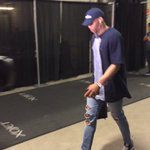 Russell Westbrook goes with the blue motif for his Game 7 outfit. https://t.co/2iOmiKz7uO