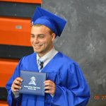 Great Graduation Weekend. Really Proud of this guy, 4 years 3 different High Schools. Handled it all!!!#coacheskid https://t.co/UrohkFvfM5