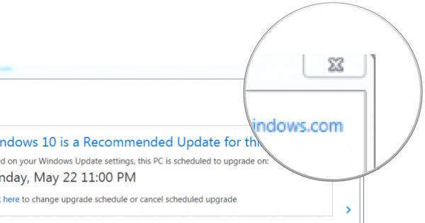 Wtaf Microsoft. The 'close' button for Win 10 upgrade is actually 'OK'. Even Kickass BSOD ad scammers will blush. https://t.co/GJwZUKbxFs