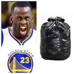 Like for Draymond Green RT for this bag of trash https://t.co/obso2RoQtv
