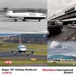 Happy 70th birthday @HeathrowAirport, we've flown 10.24million people to/from Heathrow since the year 2000! #LHR70 https://t.co/1kDQMI9Vw4