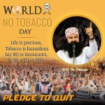 Lets raise awareness about the harmful effects of tobacco and make everyday a No Tobacco Day! #MSGwelfareServices https://t.co/ijWTxRuPVn
