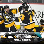 13 down, 3 to go! The #Pens defeat the Sharks 3-2 in Game 1 of the Stanley Cup Final! https://t.co/YGcJqmPDCM
