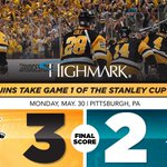 Game 1 of the Stanley Cup Final is in the books! Take a look at the stats behind the goals: https://t.co/9OBy0r5NXT https://t.co/dTVDKnoGAT