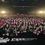 Terima kasih telah meramaikan Event #JKT48MahagitaHS pada tanggal 28 Mei 2016 di Balai Kartini, Jakarta https://t.co/XGjSmIwQlt