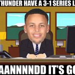 Steph Curry to the OKC Thunder. #Warriors https://t.co/ipKuDI8PcR