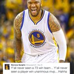 Marreese Speights had a feeling after Game 4.... https://t.co/0OIy61uG33