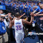 Through the Highs & Lows, Im PROUD to be an OKC Fan! Thank You for an Amazing Season! WELL BE BACK!!! #ThunderUp https://t.co/i00BuYRF0w