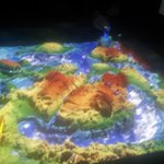 The @UTAS_ Surveying and Spatial Sciences AR sandbox is live! https://t.co/BfVBSlRU02