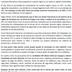 El porcentaje más alto de victimización en Chile está en #Tarapacá según #ENUSC2015, aquí mi opinión #Iquique https://t.co/CiZ0MBlvph