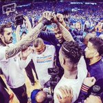 Helluva Ride.... Love you guys and love you fans @okcthunder #ThunderUp https://t.co/9A4cQjG3bO
