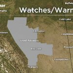 Severe thunderstorm watches dropped in SE Alberta but frost advisories remain in effect N, NE and NW of #yyc. https://t.co/S1a1bcdCPI