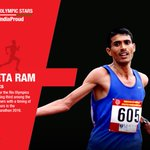 Lets cheer for Kheta Ram #RioOlympics2016 #MakeIndiaProud https://t.co/PoP5mOTJyZ