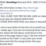 Krav Maga Leeds DO YOU HAVE WHAT IT TAKES? XTREME #KravMaga 2016. #Leeds #LovinLeeds #ILoveLeeds #Sheffieldissuper https://t.co/1yngFx3ppE