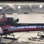 Según Elías Sánchez, el helicóptero que está rotulado como si fuera de campaña Rosselló fue pagado por Ricky. https://t.co/HnLu5fvD3J