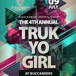 Its been such a Journey over the Last 3 years!! and now our 4th and FINAL edition ????????????#TrukYoGirl09July #EL #Buccs https://t.co/1QziCXurz2