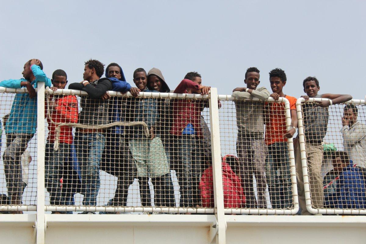 #migranti